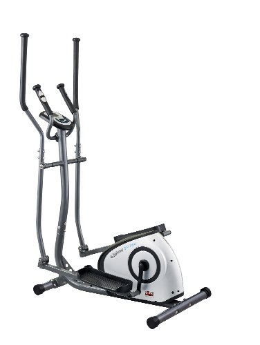 Body Sculpture Programmable Magnetic Elliptical - Grey/Black/Silver, 100 x 61 x 160 cm