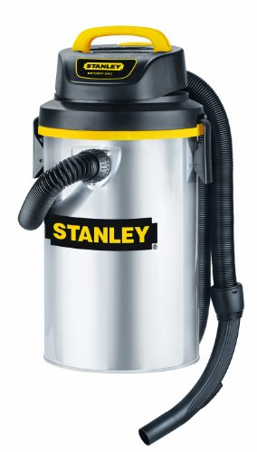 Stanley SL18132 3.5-Gallon 4 Peak Hang Up Series Horsepower Wet or Dry Vacuum Cleaner with Wall Mounted Storage Design