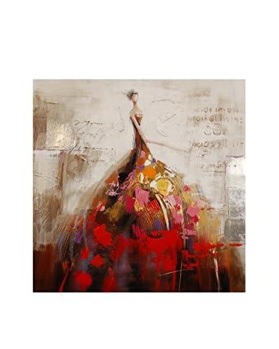 Arte dal Mondo Edgar Ramirez Dipinto Donna