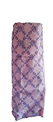 Skhoza embroidered cut work organza kurti dresss material