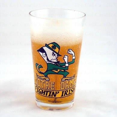 Notre Dame Beer Gel Candle