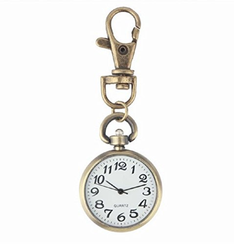 I BECOME FREE 懐中時計アンティーク シンプルで見やすい