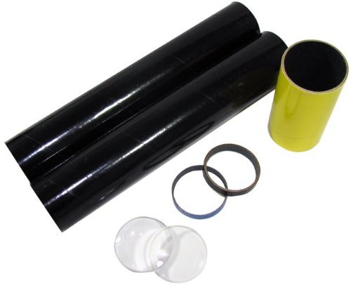 Science Fair Telescope Making Kit. Includes Cardboard Tubes And Lenses. 6X