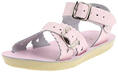 Salt Water Sandals by Hoy Shoe Sweetheart,Pink,5 M US Toddler