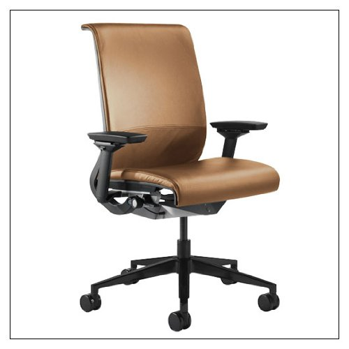 Steelcase think chair r leather color camel reviews best