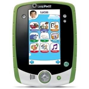 LEAPFROG Tablette Personnalisable LeapPad 2+ Verte
