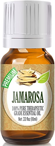 Jamarosa 100% Pure, Best Therapeutic Grade Essential Oil - 10ml