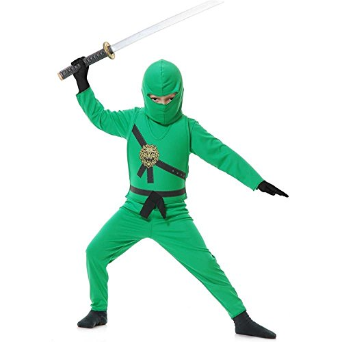 [Jade Ninja Avenger Toddler Costume] (White Ninja Costumes For Kids)