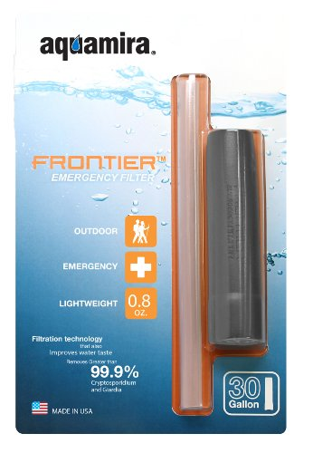 Aquamira Frontier Emergency Water Filter System