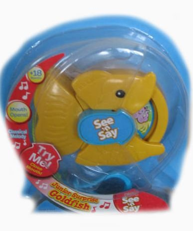 Fisher Price See 'N Say Junior Surprise Goldfish - 1