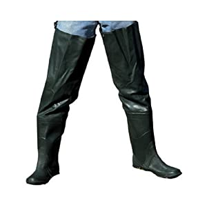 Academy broadway 703109 rubber hip wader 10 for Hip boots for fishing