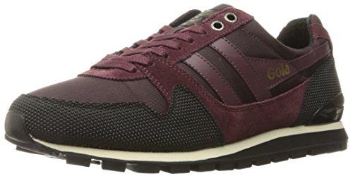 Gola Men's Ridgerunner Ii Fashion Sneaker, Burgundy/Black, 10 UK/11 M US