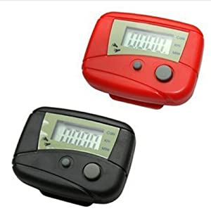 Buy Digital LCD Run Step Pedometer Walking Calorie Counter Distance Clip-on New by buytra