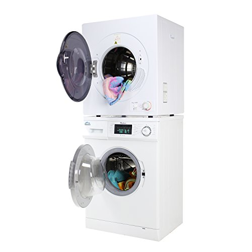 Majestic Stackable Compact Super Washer MJ824W and Compact Short Dryer MJ850D Set (Small Stacking Washer And Dryer compare prices)