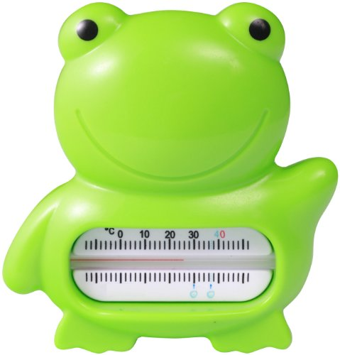 FOR BABIES -- FROG -- Floating Baby Bath Thermometer -- MERCURY FREE