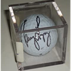 Nancy Lopez signed LPGA Golf ball - Masters - British Open -Comes with a Certificate... by ezgraphs