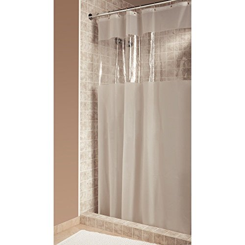 Interdesign Hitchcock Shower Curtain Stall 54 By 78 Clear Water Mold Resistant Ebay