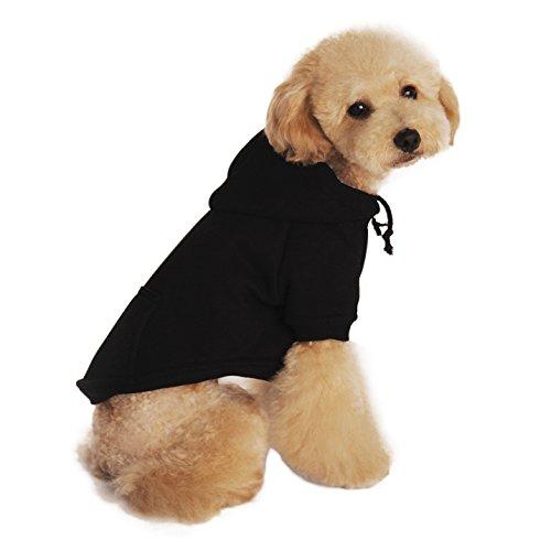 fakeface baumwolle hundemantel hundejacke hundepullover mit kapuze hunde winter herbst warme. Black Bedroom Furniture Sets. Home Design Ideas