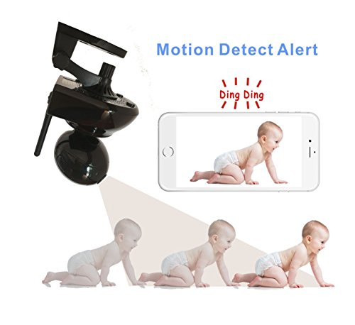 ZEBORA® Baby Monitor, Super HD 960P Internet WiFi Wireless Network IP Security Surveillance Video Camera System, Pet and Nanny Monitor with Pan and Tilt, Two Way Audio & Night Vision