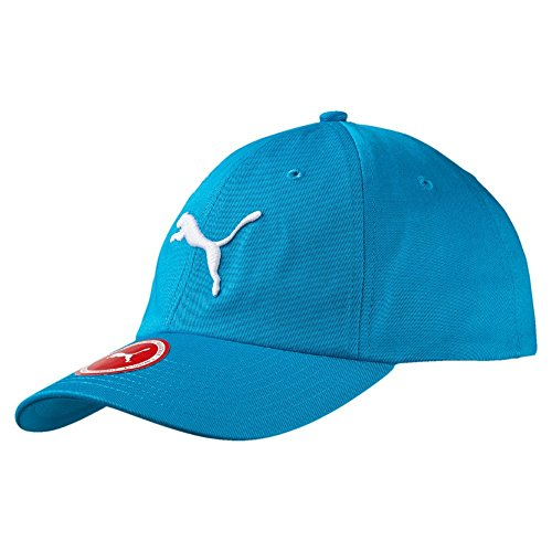 Puma ESS Cap - Kinder Bascap - atomic blue - Big CatMain Material 1: 100% cotton; Twill; 265 g/m²; soft finish6 panels capEmbroidered eyeletsVelcro fabric adjuster3D embroidered The Cat Logo/PUMA N0.1 Logo on the front
