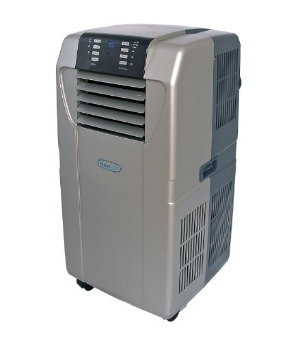 NewAir AC-12000H 12,000 BTU Heat Pump Portable Air Conditioner With R410A Refrigerant
