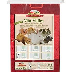 LM Animal Farms Vita-Vittles Hamster Food 25 lbs.