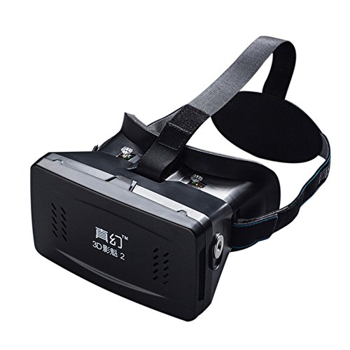 """Andoer Private 3D Glasses Google Cardboard Head-mounted 3D VR Glasses Virtual Reality DIY with Bluetooth V3.0 Selfie Camera Shutter Gamepad for iPhone Samsung / All 3.5 ~ 6.0"""" Smart Phones"""