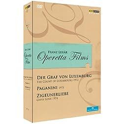 Franz Lehar - Operetta Films: Der Graf Von Luxemburg; Paganini; Zigeunerliebe