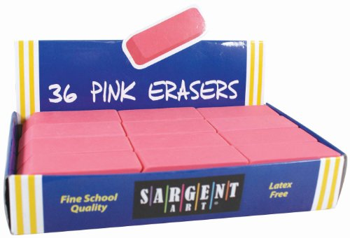 sargent-art-36-1012-36-count-eraser-best-buy-pack-pink