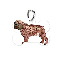 CafePress french bulldog copy.jpg Bone Pet Tag - Standard White by CafePress