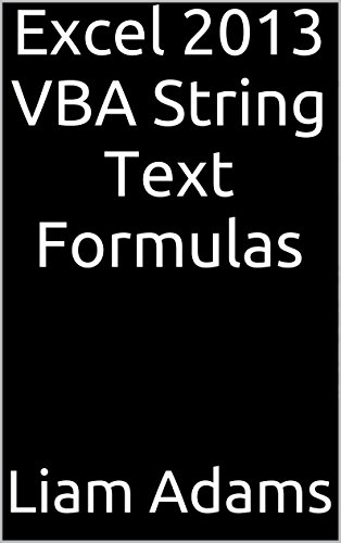 Excel 2013 Vba String Text Formulas front-73161