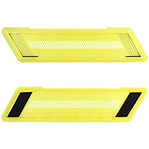 Skque® PC Vertical Stand Holder for Sony PS4 PlayStation 4 Console, Yellow
