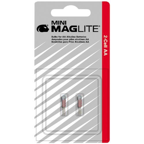 Maglite Replacement Bulb Aa Mini-Mag (2 Pack)