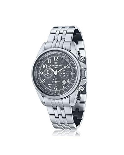 Thomas Earnshaw Men's ES-8028-11 Commodore Black Stainless Steel Watch