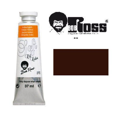 Lukas - Bob Ross Tier-Soft-Ölmalfarben 37 ml Umbra gebrannt