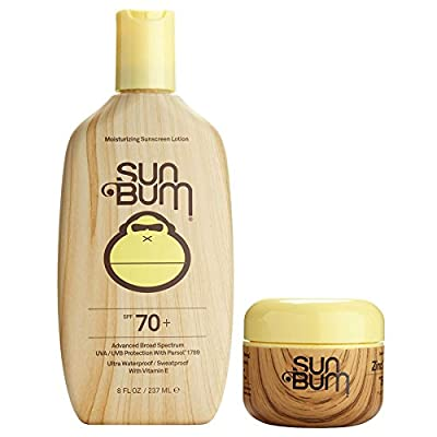 Best Cheap Deal for Sun Bum SPF 70 8oz Lotion + Clear Zinc Oxide by Sun Bum - Free 2 Day Shipping Available