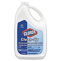 Clorox 35420 Clean-Up Disinfectant Cleaner with Bleach, Fresh, 128 oz. Refill Bottle (Pack of 4)