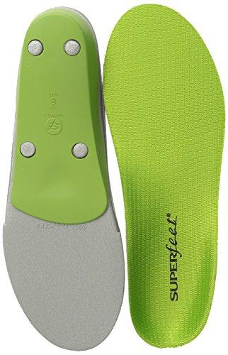 Superfeet Green Premium Insoles,Green,D: 8.5 - 10 US Womens/