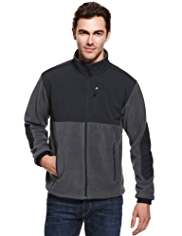 Zip Through Fleece Top with Stormwear™