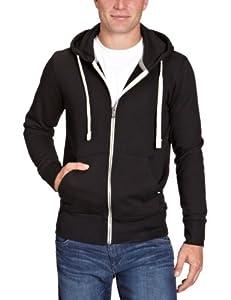 Jack & Jones Storm - Sudadera con capucha de manga larga para hombre, talla 48, color negro