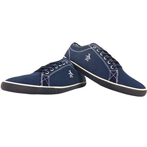 original-penguin-brewton-zapatillas-de-lona-para-hombre-azul-azul-color-azul-talla-45