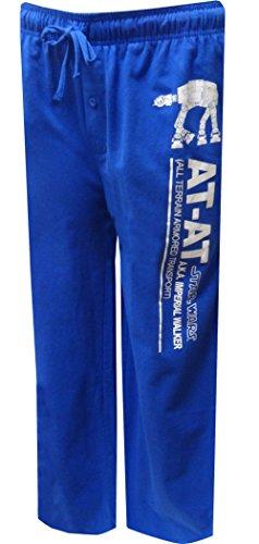 [Star Wars AT-AT Imperial Walker Knit Graphic Sleep Lounge Pants - Large] (Star Wars At At Walker)