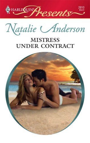 Image for Mistress Under Contract (Harlequin Presents)
