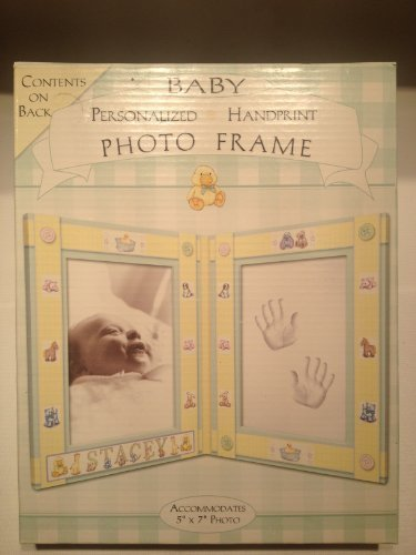 Baby Personalized Handprint Photo Frame Duckie