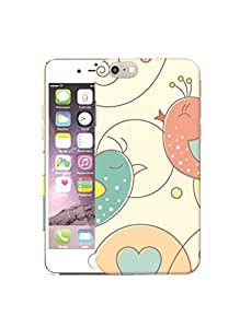 mStick Cute Birds Design 32 Printed Back Cover Case For Apple iPhone 6/6S