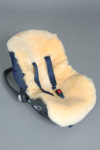 GABE  &  GRACE Delux Natural Lambskin /Sheepskin Car Seat / Stroller Liner
