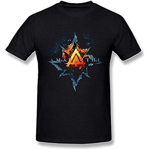 Taiyan-JBJ Men's Amaranthe Death Metal Logo T-shirt