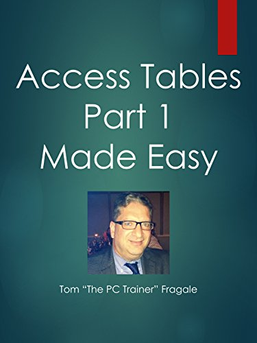 Access Tables Part 1 Made Easy
