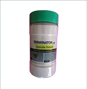Concrete and driveway cleaner by terminator for Concrete cleaner oil remover