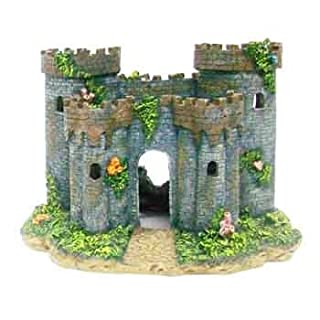 Penn Plax Medieval Castle of France Aquarium Decorative